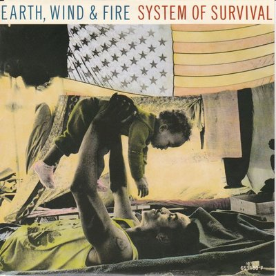 Earth Wind & Fire - System of Survival + Writing on the wall (Vinylsingle)