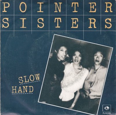 Pointer Sisters - Slow hand + Holdin' out for love (Vinylsingle)