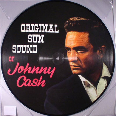 JOHNNY CASH - ORIGINAL SUN SOUND -PICTURE DISC- (Vinyl LP)