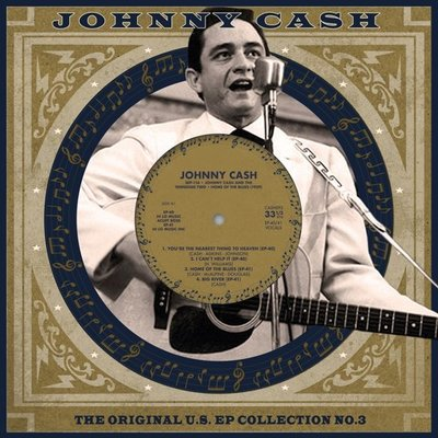 "JOHNNY CASH - THE ORIGINAL U.S. EP COLLECTION NO. 3 (10"" VINYL) (Vinyl LP)"
