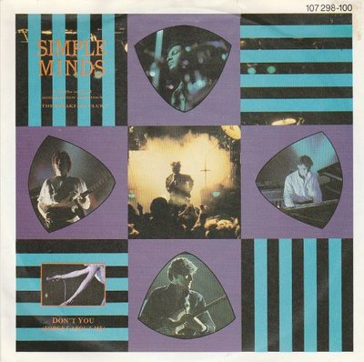 Simple Minds - Don't you + A brass band in Africa (Vinylsingle)