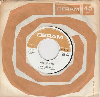 Ten Years After - Love like a man (33rpm) + Love like a man(45rpm) (Vinylsingle)