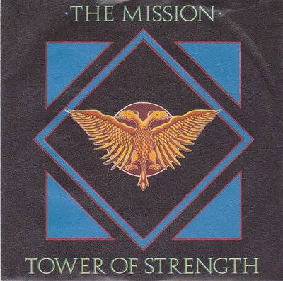 The Mission - Tower of strength + Fabienna + Breathe (vocal) (Vinylsingle)