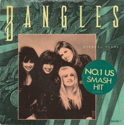 Bangles - Eternal flame + What i meant to say (Vinylsingle)