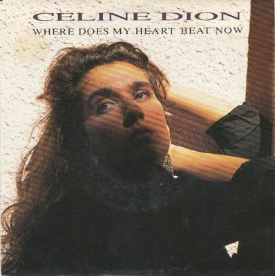 Celine Dion - Where does my heart beat now + I feel too muc (Vinylsingle)