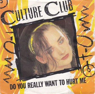 Culture Club - Do you really want to hurt me + (dub) (Vinylsingle)