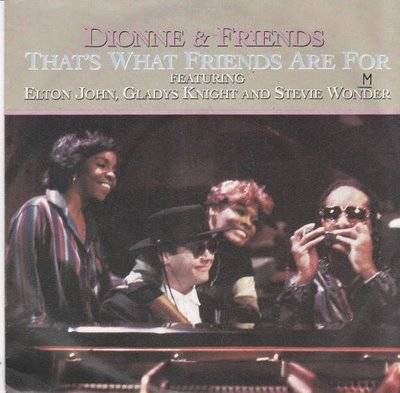 Dionne Warwick - That's what friends are for + Two ships passing (Vinylsingle)