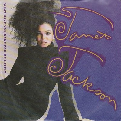 Janet Jackson - What have you done for me. + He doen't (Vinylsingle)