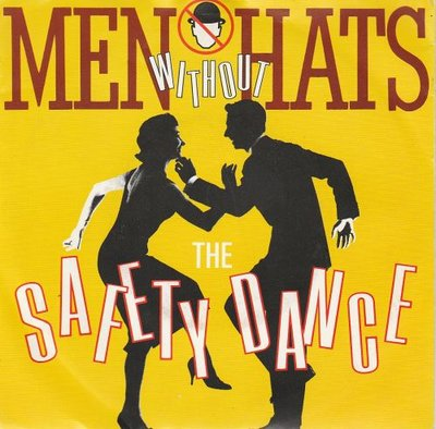 Men Without Hats - Safety dance + Security (Vinylsingle)