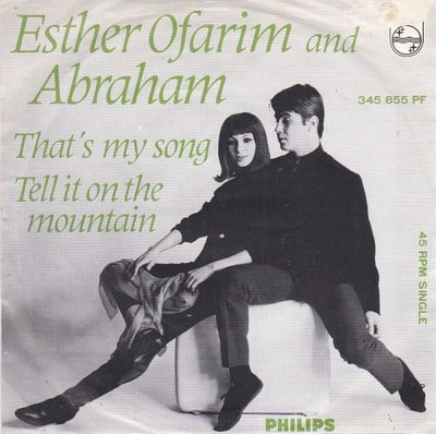 Esther & Abraham Ofarim - That's my song-Tell it on the mountain (Vinylsingle)