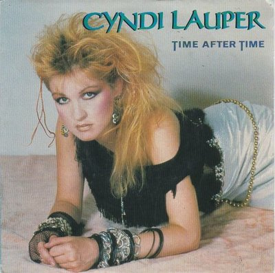 Cyndi Lauper - Time after time + I'll kiss you (Vinylsingle)