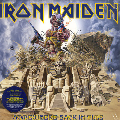 IRON MAIDEN - SOMEWHERE BACK IN TIME -BEST OF 1980-1989 -PICTURE DISC- (Vinyl LP)
