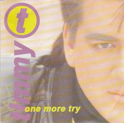 Timmy T - One more try + What will I do (Vinylsingle)