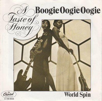 A Taste of Honey - Boogie oogie oogie + World spin (Vinylsingle)