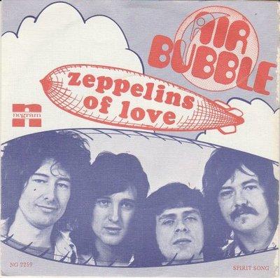 Air Supply - Zeppelins Of Love + Spirit Song (Vinylsingle)