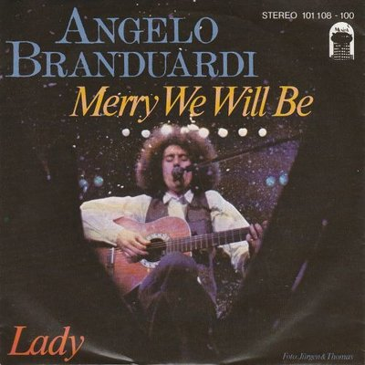 Angelo Branduardi - Merry We Will Be + La Pulce D'Aqua (Vinylsingle)