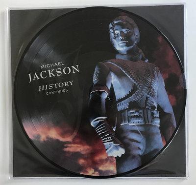 MICHAEL JACKSON - HISTORY CONTINUES -PICTURE DISC (Vinyl LP)