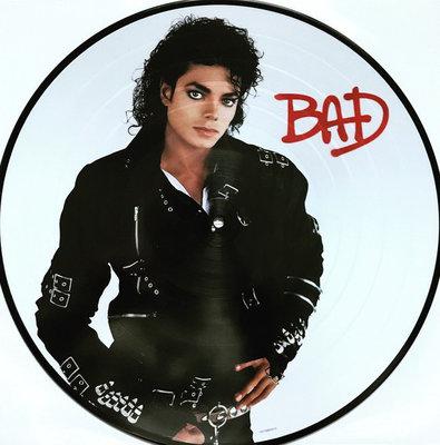 MICHAEL JACKSON - BAD -PICTURE DISC- (Vinyl LP)