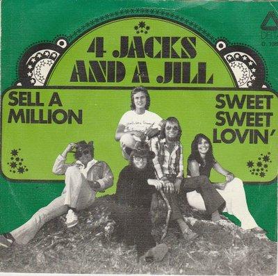 4 Jacks and a Jill - Sell A Million + Sweet Sweet Lovin' (Vinylsingle)
