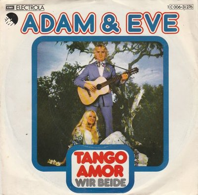 Adam & Eva - Tango Amor + Wir Beide (Vinylsingle)