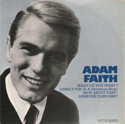 Adam Faith - What do you want (EP) (Vinylsingle)
