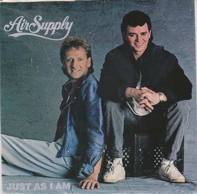 Air Supply - Just As I Am + Crazy Love (Vinylsingle)