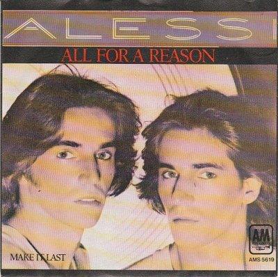 Alessi - All for a reason + Make it last (Vinylsingle)