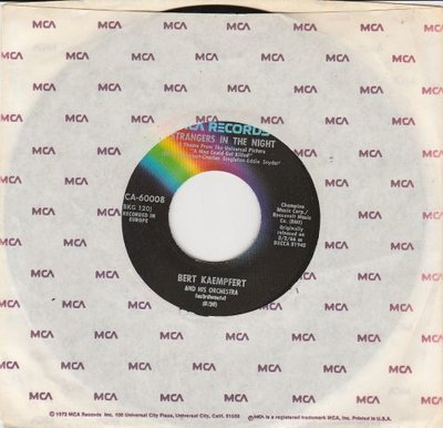 Bert Kaempfert - Wonderland by night + Strangers in the night (Vinylsingle)