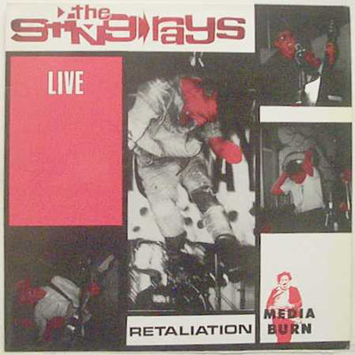 The Sting-Rays - Live Retaliation (Vinyl LP)