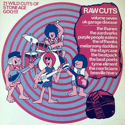 Various - Raw Cuts Volume Seven - UK Garage Disease (Vinyl LP)