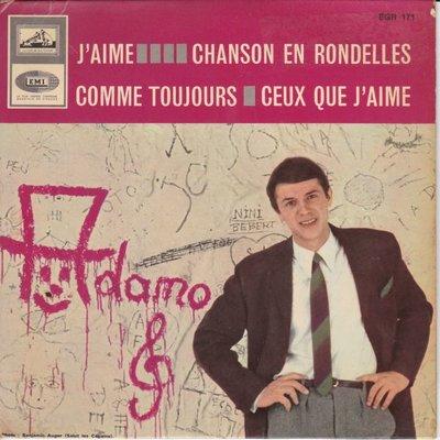 Adamo - J'aime + Chanson en rondelles +2 (Vinylsingle)