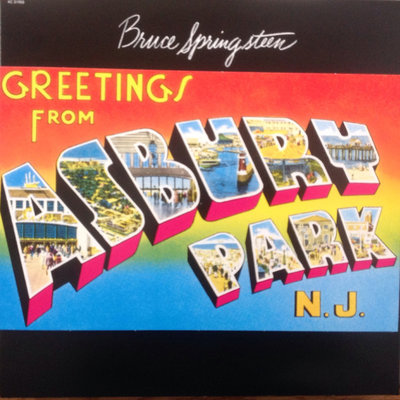 BRUCE SPRINGSTEEN - GREETINGS FROM ASBURY PARK, N.J. (Vinyl LP)