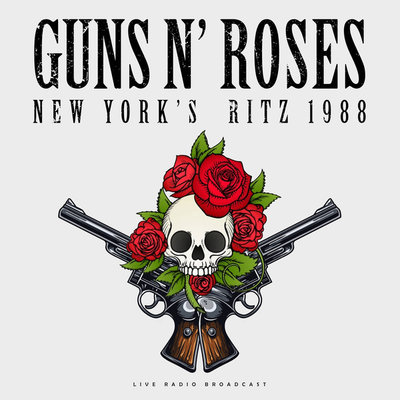 GUNS N' ROSES - LIVE RADIO BROADCAST (Vinyl LP)