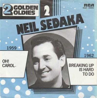 Neil Sedaka - Oh Carol + Breaking up is hard to do (Vinylsingle)