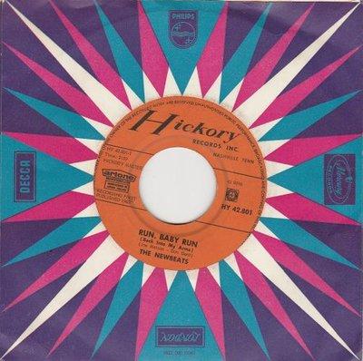 Newbeats - Run baby run + Mean woolly Willie (Vinylsingle)
