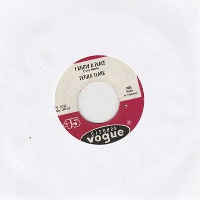 Petula Clark - I know a place + Jack & John (Vinylsingle)