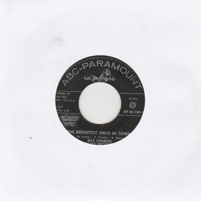 Ray Charles - Brightest smile in town + Don't set me free (Vinylsingle)