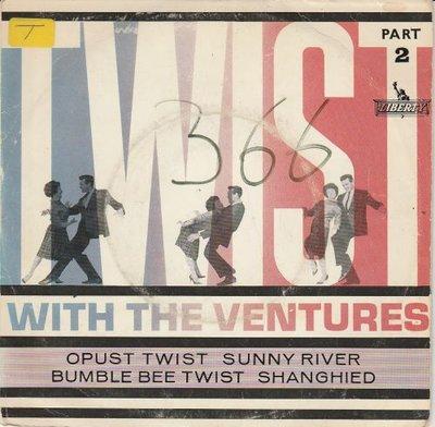 Ventures - Twist with the Ventures part II (EP) (Vinylsingle)