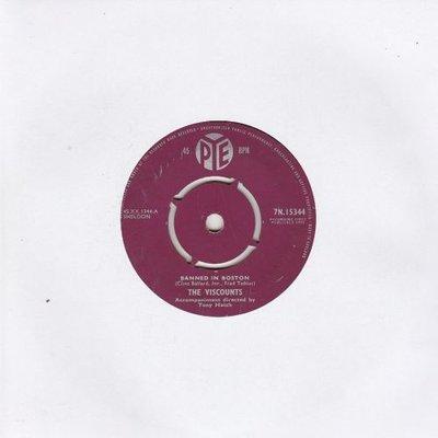 Viscounts - Banned In Boston + Moonlight Promises (Vinylsingle)