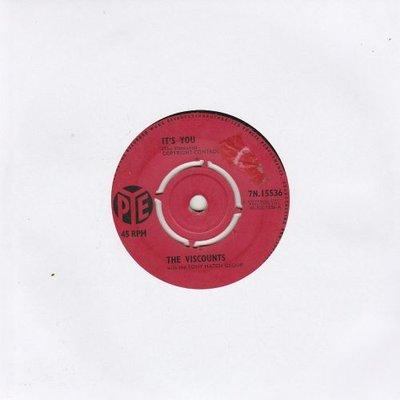 Viscounts - It's You + I'll Never Get Over You (Vinylsingle)