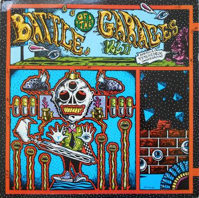 Various - Battle Of The Garages vol 2 (Vinyl LP)