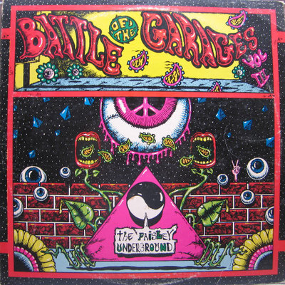 Various - Battle Of The Garages (Vinyl LP)