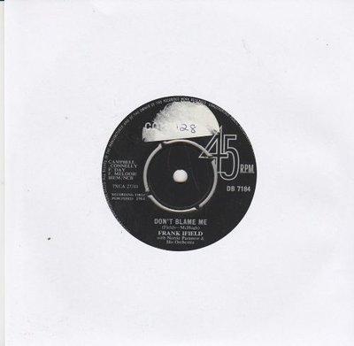 Frank Ifield - Don't Blame Me + Say It Isn't So (Vinylsingle)