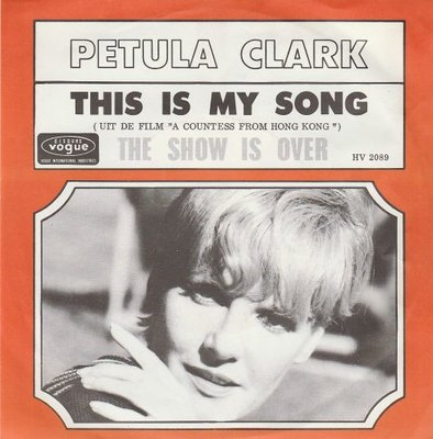 Petula Clark - This is my song + The show is over (Vinylsingle)