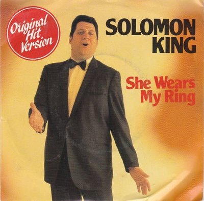 Solomon King - She wears my ring + Somewhere in the crowd (Vinylsingle)
