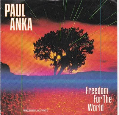 Paul Anka - Freedom for the world + Too young to die (Vinylsingle)