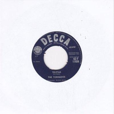 Tornados - Telstar + Jungle fever (Vinylsingle)