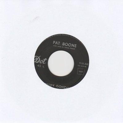 Pat Boone - Speedy Gonzales + The locket (Vinylsingle)