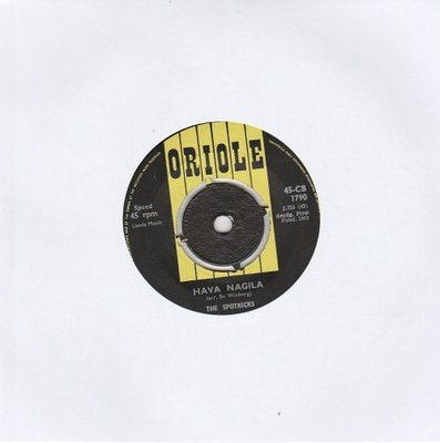Spotnicks - Hava Naguila + Highflyin' Scotsman (Vinylsingle)