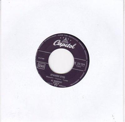 Al Martino - Spanish eyes + Melody of love (Vinylsingle)